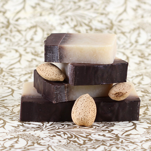 Almond Chocolate Lavender Soap Kit