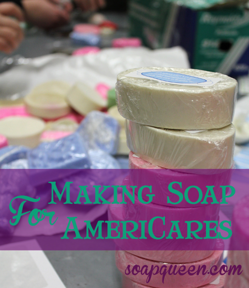 Making Soap for AmeriCares