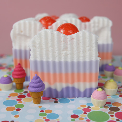 Birthday Cake Soap Kit