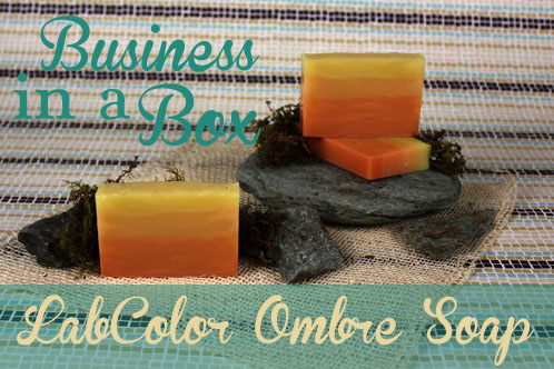 Business in a Box Ombre Soap