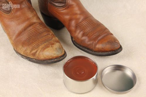 The Tinted Polish Really Works Check Out Difference Between These Two Boots Boot On Right Was Polished With Balm