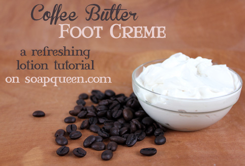 Coffee Butter Foot Creme