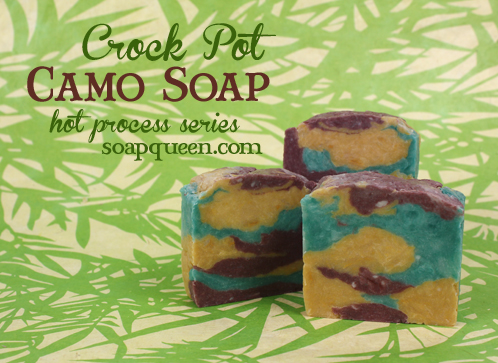 Cool Camo Crock Pot Hot Process