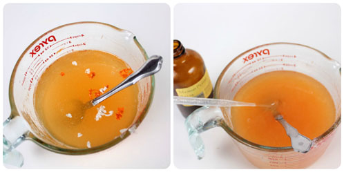 Color and Fragrance in Orange Soap