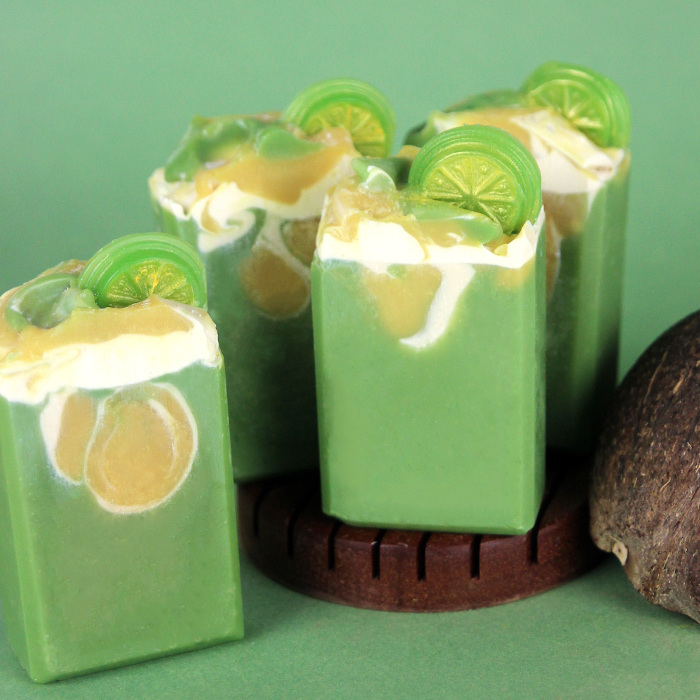 Lime in the Coconut Milk Cold Process Soap Kit
