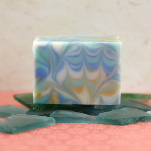 Frog Foot Swirl Soap Kit
