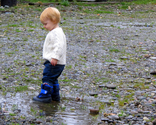 Puddle Jumping Jamisen