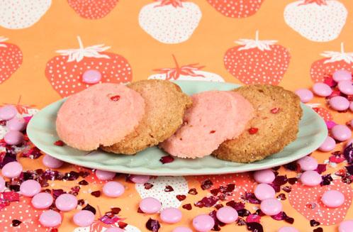 Pink Shortbread