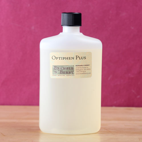 Optiphen Plus is a liquid broad spectrum preservative with an INCI of Phenoxyethanol (and) Caprylyl Glycol (and) Sorbic Acid. (It differs slightly from ...