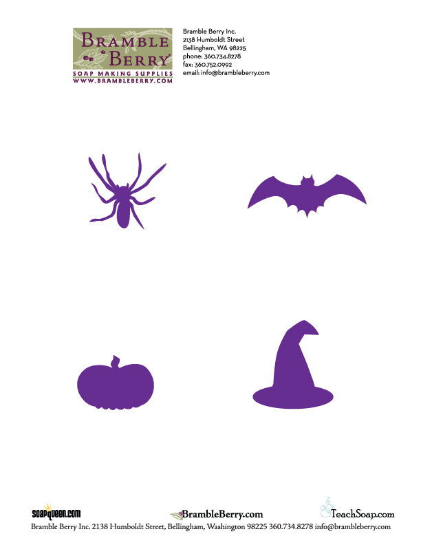 Halloween Silhouette Designs - Free Downloadable PDF