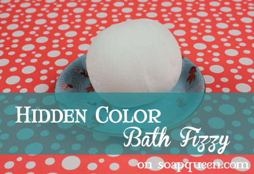 Hidden Color Bath Fizzy