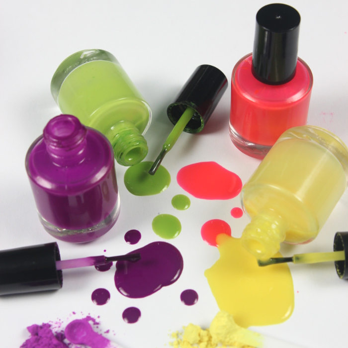 Radiant Neon Nail Polish Kit