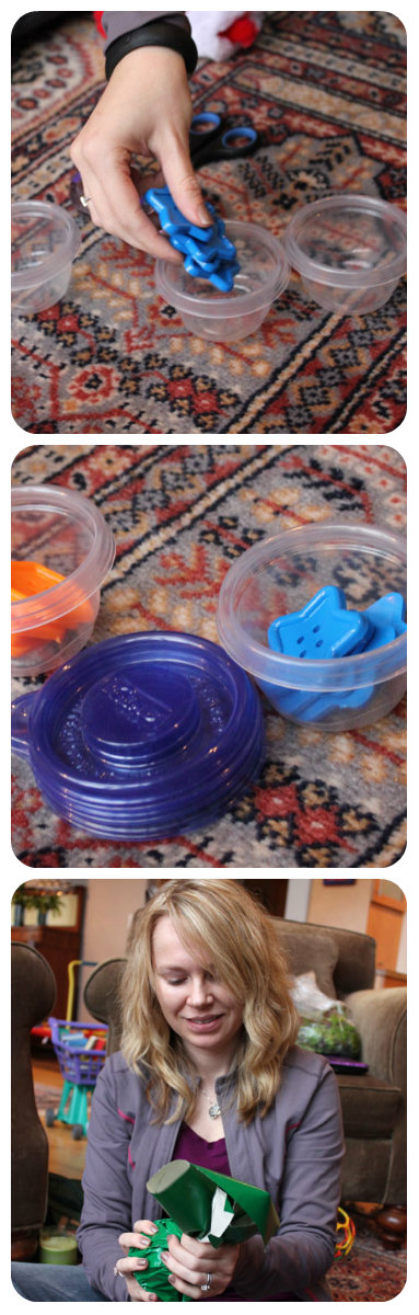 Making sorting containers