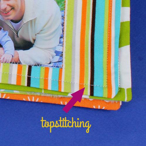 Topstitching