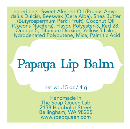 Labeling Your Products Lip Balm Soap Queen – Ingredients Label Template