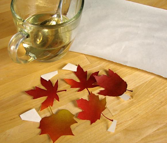 Осенние листья LeafSetUp