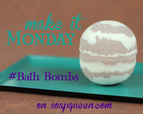Make it Monday Bath Bomb Challenge