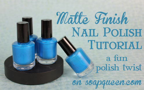 Matte Finish Nail Polish