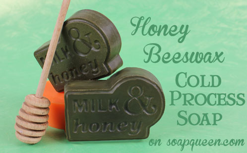 Honey Beeswax Cold Process Soap