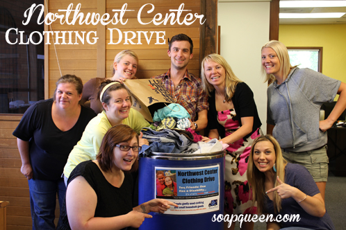 Northwest Center Clothing Drive
