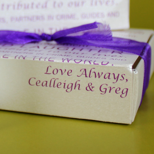 Love, Cealleigh and Greg