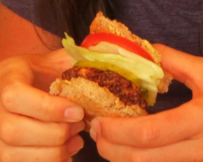 Quinoa Feta Burgers - Soap Queen