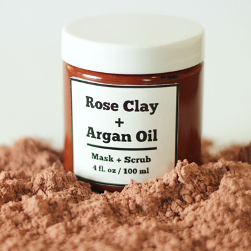 Rose Clay Exfoliating Mask Kit