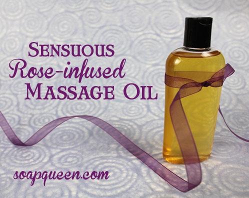 Rose Infused Massage Oil