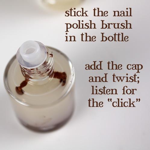 Brush In Bottle