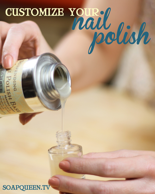 How to Make Nail Polish Video - Soap Queen