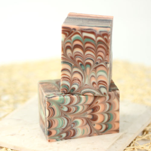 Perfect Peacock Swirl Soap Kit