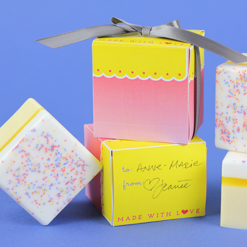 Petit Four Soap Kit