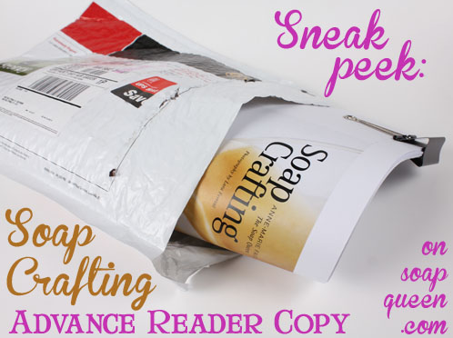 Sneak Peek Advanced Reader Copy of Soap Crafting