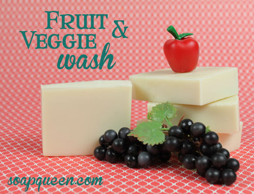 Fruit and Veggie Wash Soap