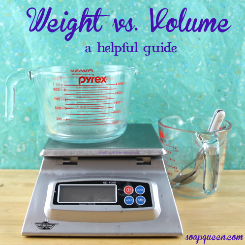 A Guide to Weight vs. Volume