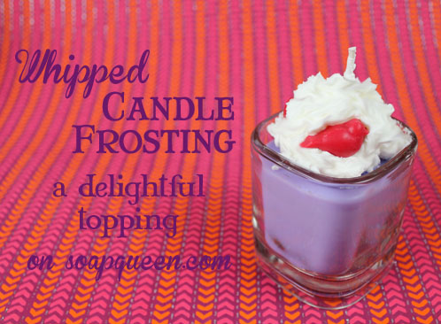 Whipped Candle Frosting