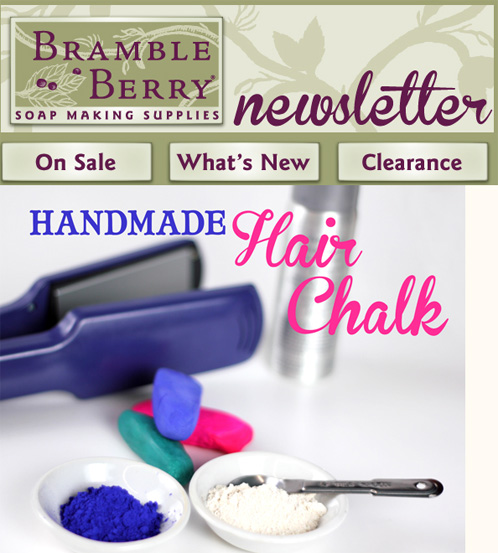 Bramble Berry Newsletter