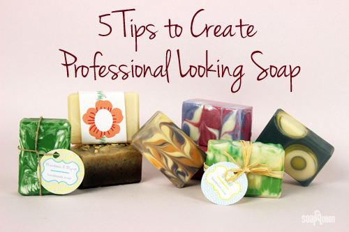 When making soap to sell or give as a gift, it needs to look polished and professional . Unfortunately, not every batch comes straight out of the mold this ...