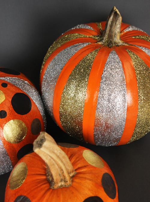 Mica Paint Glitter Pumpkins 3 Different Ways Soap Queen