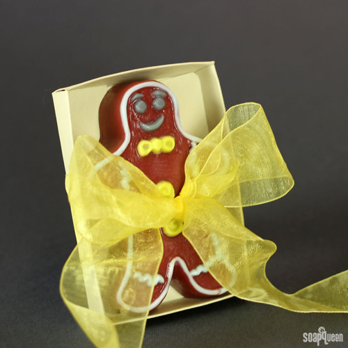 Cheery and Bright Gingerbread Man Melt and Pour Kit