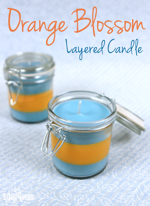 Learn how to make your own layered candles! Post also includes candle troubleshooting FAQs.