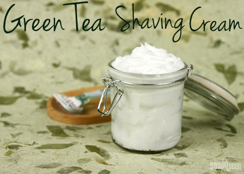 Learn how to make your own shaving cream! It's easy, and can be customized with your favorite scent.