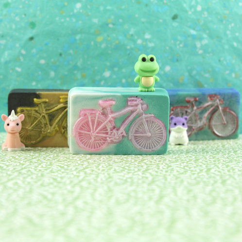 Bicycle Melt & Pour Soap Kit