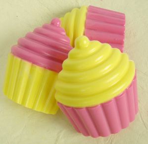 Two-Tone Cupcake Soap Kit