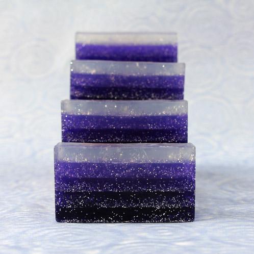 Violet Glitter Gradient Kit
