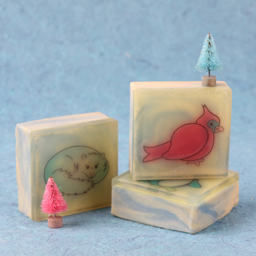 Winter Creatures Soap Kit