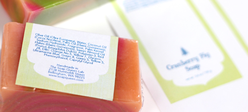 How to Label Cold Process Soap