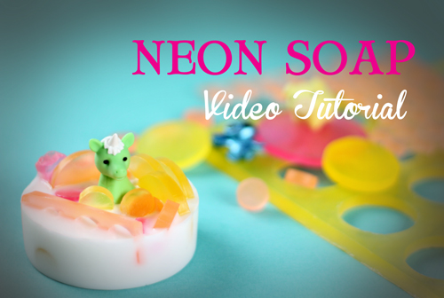 Neon Ambrosia Soap Kit