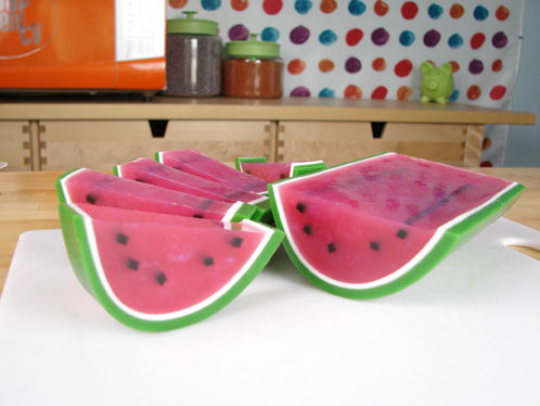 Juicy Watermelon Melt & Pour Soap Tutorial - Soap Queen