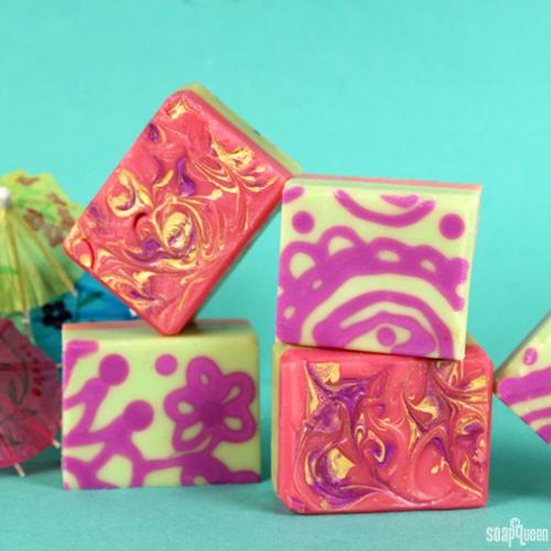 Vibrant Mehndi Cold Process Soap Kit